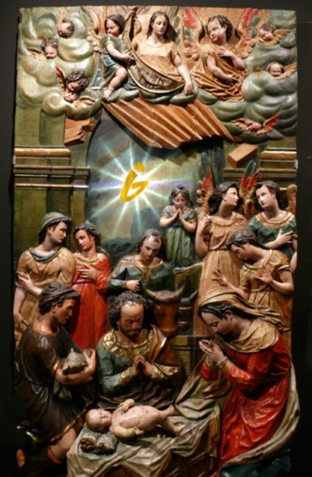 Relieve de la Adoración de los pastores. Juan de Oviedo primer tercio s. XVII